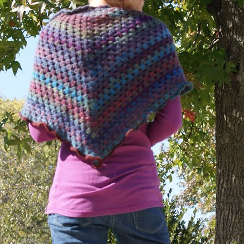 Free Chrochet Shawl Pattern — Saved By Love Creations