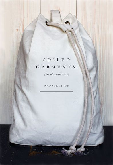 Store 'em like this, and you'll never feel ashamed about lugging laundry around again.