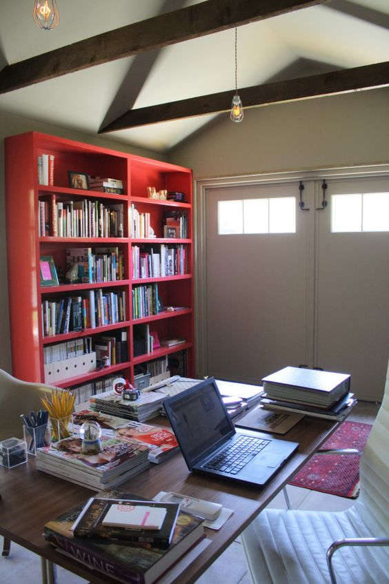 foodinista - freestanding garage conversion to office