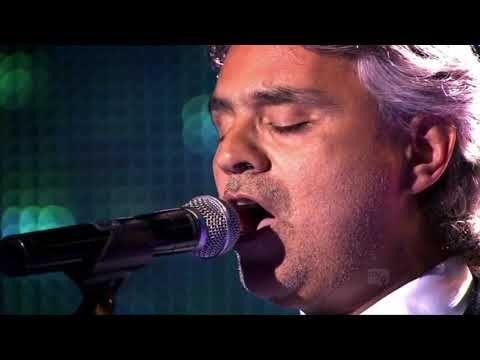 9 Hd Andrea Bocelli Un Amore Cosi Grande Live Youtube