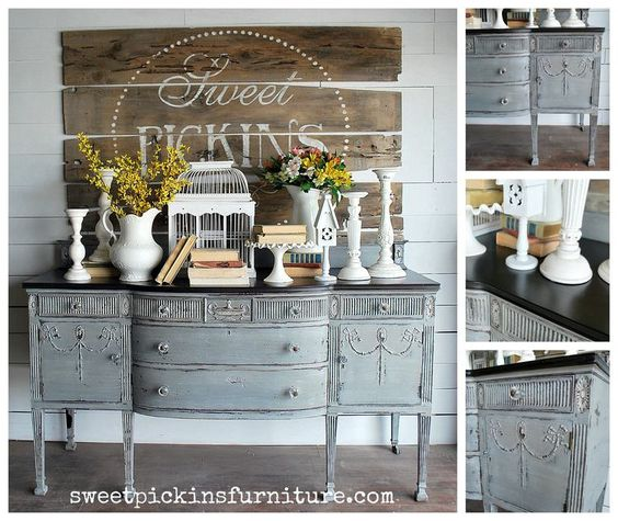 painted by sausha from sweet pickins furniture using sweet pickins milk paint of course astonishing pinterest refurbished furniture photo