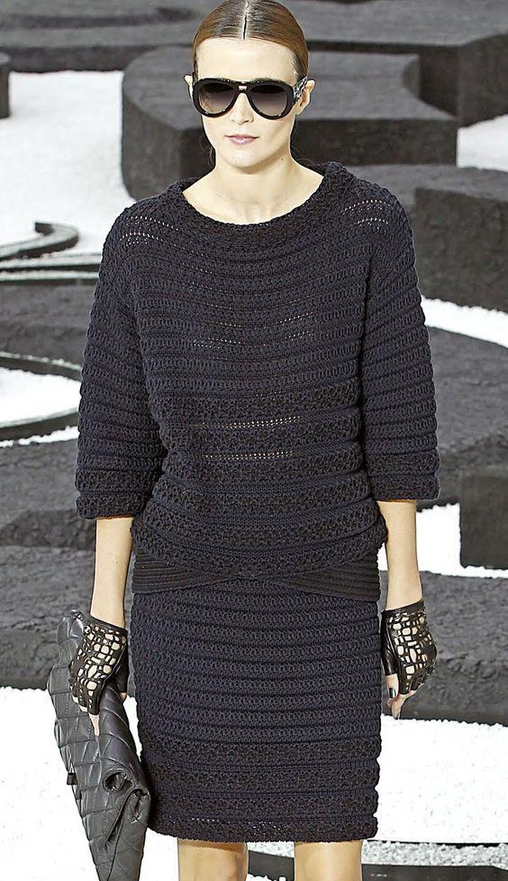 СТИЛЬНОЕ ВЯЗАНИЕ: Chanel. Весна-лето 2011.