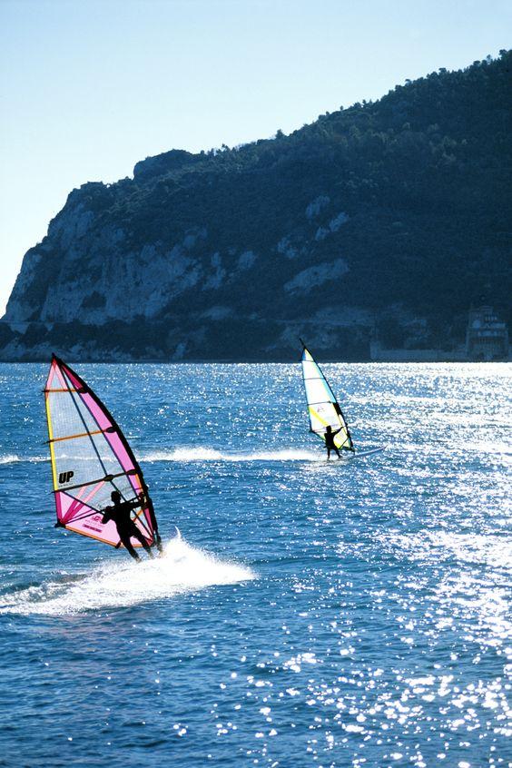 Windsurfer in Liguria, © Silvio Massolo
