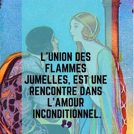 L'union des Flammes Jumelles, est une rencontre dans l'Amour Inconditionnel.