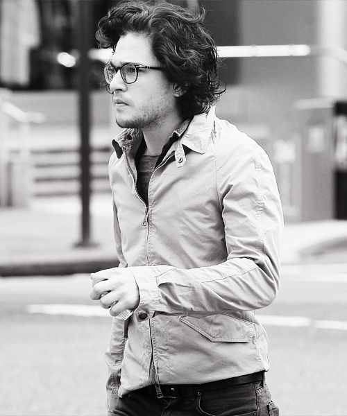 Kit Harington. If winter is coming, may this man be my blanket. ;)