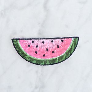 TR00049 Watermelon Patch - Patches -  Iron On Patch - Embroidered Patch - Emoji Patch - Fruit
