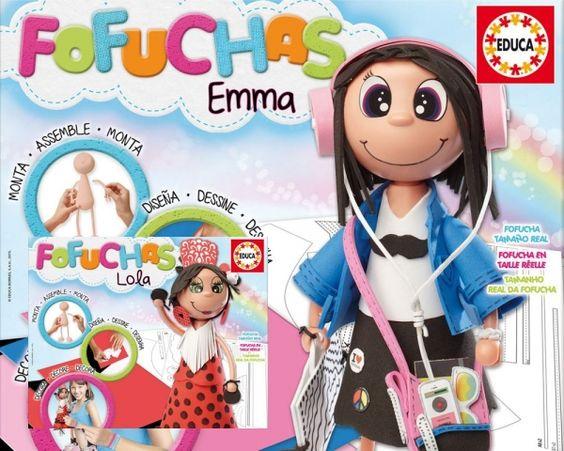 Te animas a crear tu propia #Fofucha? #muñeca #juguetes #educa