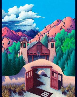 Southwest Art, Taos Giclée Prints, Southwestern Paintings & Photographs - Jack Leustig Imaging - Complete Giclée Printing & Preparation Services - Arroyo Seco, New Mexico