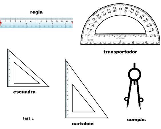 Conoce Los Instrumentos Geometricos Matematicas Para Ti En 2020 Paralelas Y Perpendiculares Actividades Para Primaria Matematicas