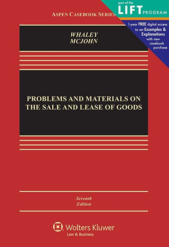 Free Download Problems And Materials On The Sale And Lease Of Goods Aspen Casebook Series By D In 2020 Ebook Book Addict Free Pdf Books