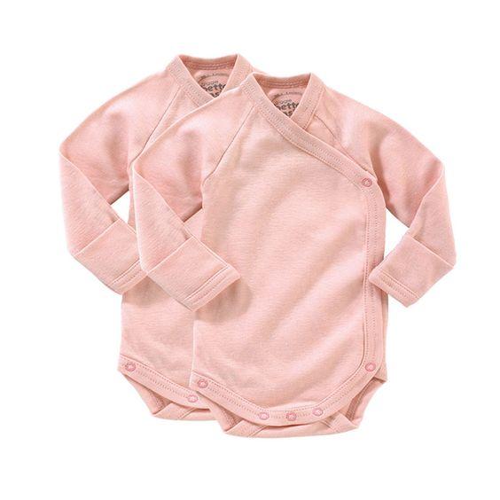 giggle Better Basics Long-Sleeve Baby Body - Set of 2 (Organic Cotton), need size 3-6