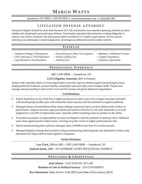 Attorney Resume Sample Resume Template Word Resume Template Resume Examples