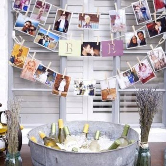 21st birthday photo decoration could do this for any for 21st b day decoration ideas