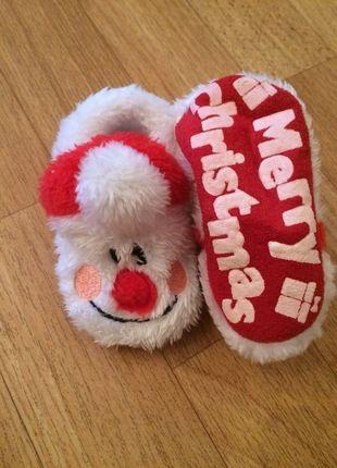 Kaufe meinen Artikel bei #Mamikreisel http://www.mamikreisel.de/kleidung-fur-madchen/schuhe-sonstige/18291837-susse-weihnachts-schuhe