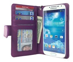 Samsung Galaxy S4 Wallet Case - Navor