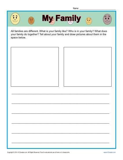 family traditions worksheets for kindergarten family traditions worksheets kindergarten k5. Black Bedroom Furniture Sets. Home Design Ideas