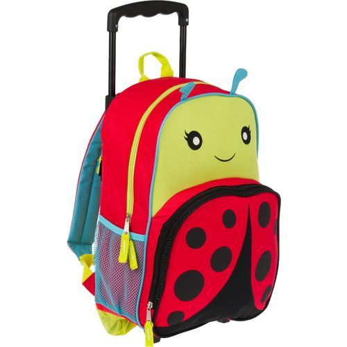 The cutest rolling backpack we've ever seen!