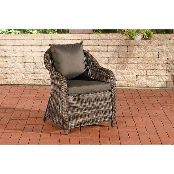 Fauteuil De Jardin Farsund Anthracite Loraville Stavanger Outdoor Chairs Home Decor
