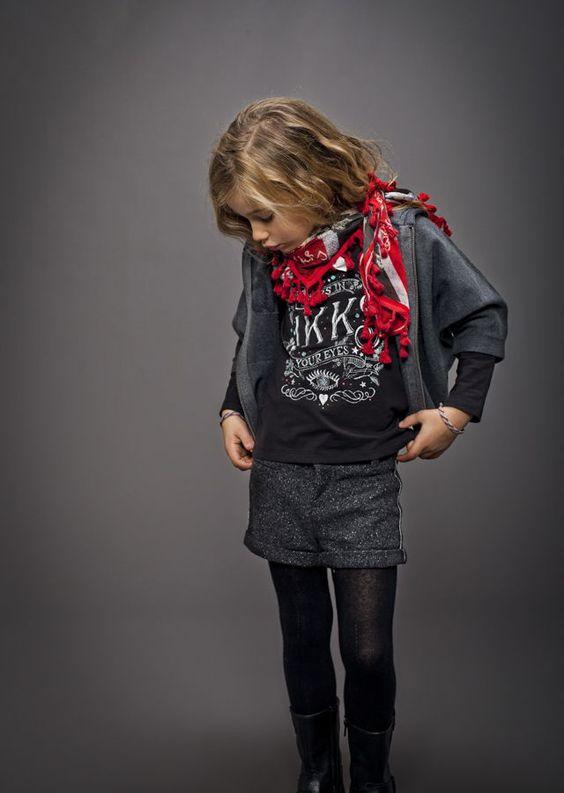 Look mode fille IKKS AH 2014-2015