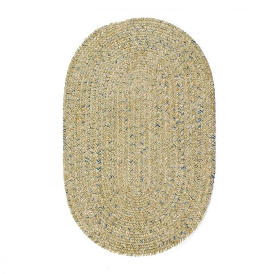Colonial Mills Braided West Bay Celery Outdoor Rug - WB61R072X108