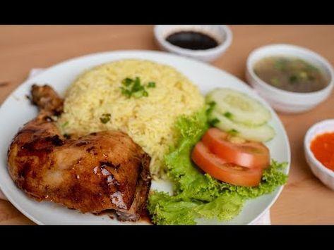 Cara Cara Masak Nasi Ayam Legend Yang Menjadi Rujukan Ramai Youtube Di 2020 Resep Masakan Ayam Resep