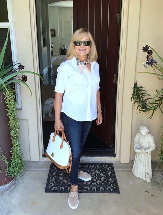 ann taylor white blouse (1)