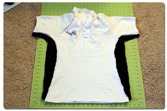 Shirt Refashion Tutorial