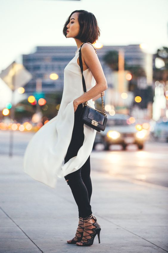 one dress, two ways, versatile pieces, white dress, fringe, denim jeans, dress with jeans