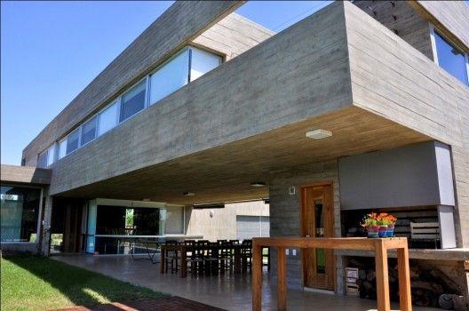 KM House by Estudio Pablo Gagliardo; Rosario, Santa Fe, Argentina