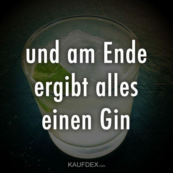 Und Am Ende Ergibt Alles Einen Gin Kaufdex Lustige Spruche Coole Spruche Lustige Spruche Urkomische Zitate