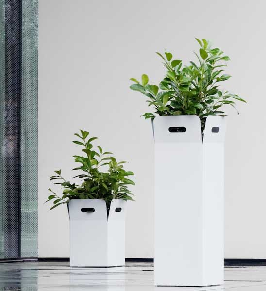 Blumenkubel Box Weiss Von Flora Im Greenbop Online Shop Kaufen