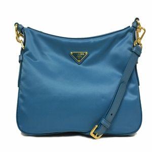 shop prada online usa - Prada Pink Tessuto Pattina Leather Crossbody Messenger Bag BT0953 ...