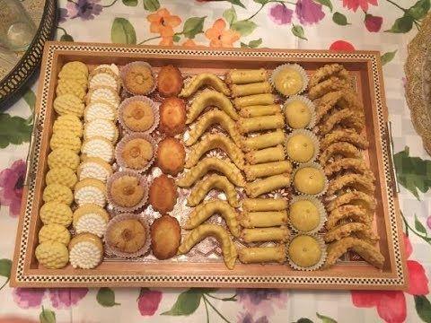 شكيلات جديدة 2019 بلاطو مشكل حلويات العيد الجزء 2 Moroccan