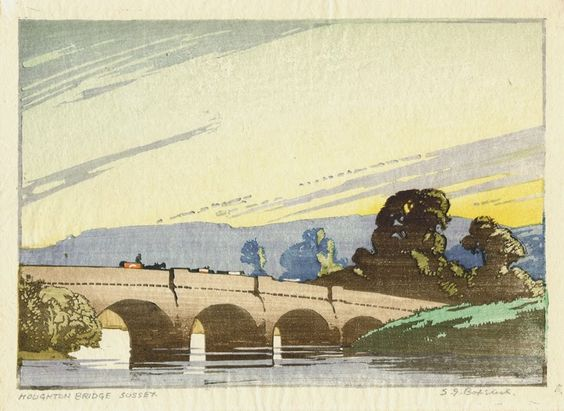 Modern Printmakers: SG Boxsius (British, 1878 - 1941)
