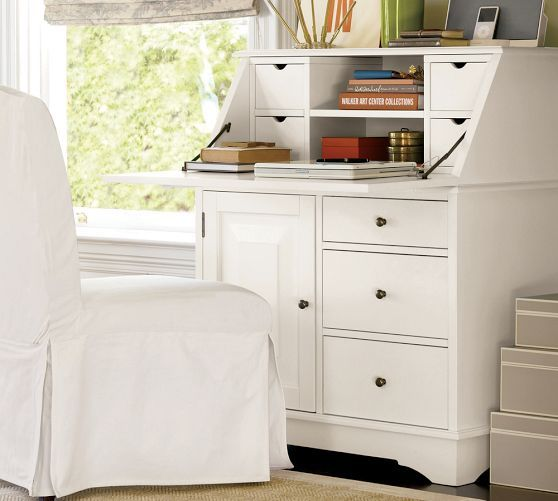 17 Best Cabinets And Desks Images On Pinterest Chinoiserie Desk. Antique  writing ... - Antique White Secretary Desk Desk Design Ideas
