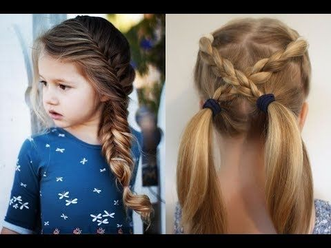 Mädchen Frisur Locken