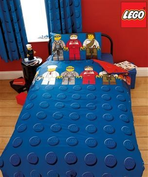 Buy Lego™ Mini Figures Bed Set from the Next UK online shop (tactile bedding)