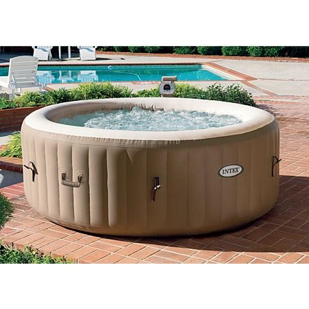 Intex pure portable spa pool 75in swimming pools above for Portable pool