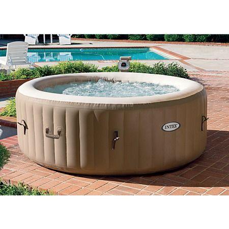Intex spa pool for Gartenpool test 2016