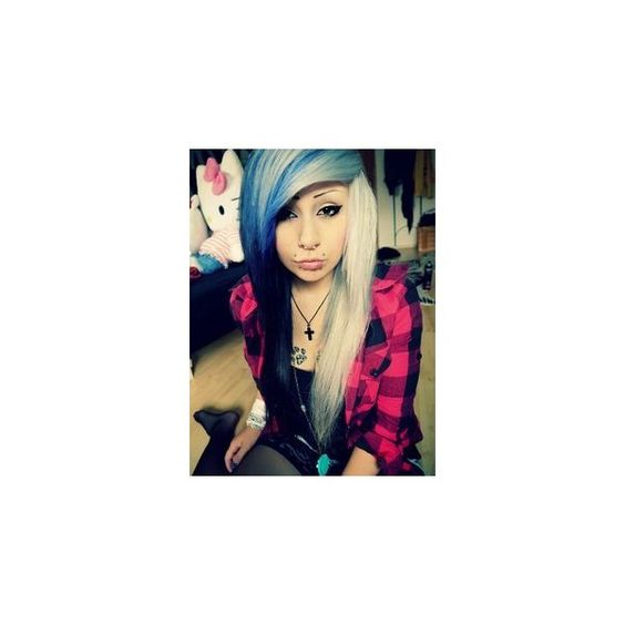 Verena Schizophrenia ❤ liked on Polyvore featuring hair