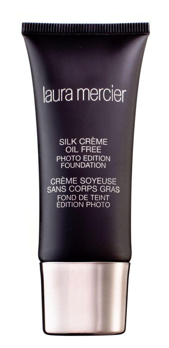 Fond de teint Silk Cream et crème hydratante, Laura Mercier sur LeBonMarche.com, 48 euros les 30 ml.