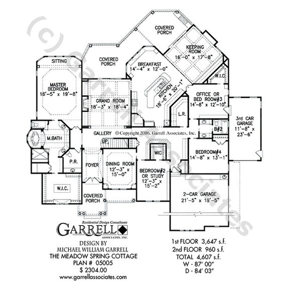 Meadow Spring Cottage House Plan 05005 Garrell Associates Inc Cottage House Plans Mountain House Plans House Plans