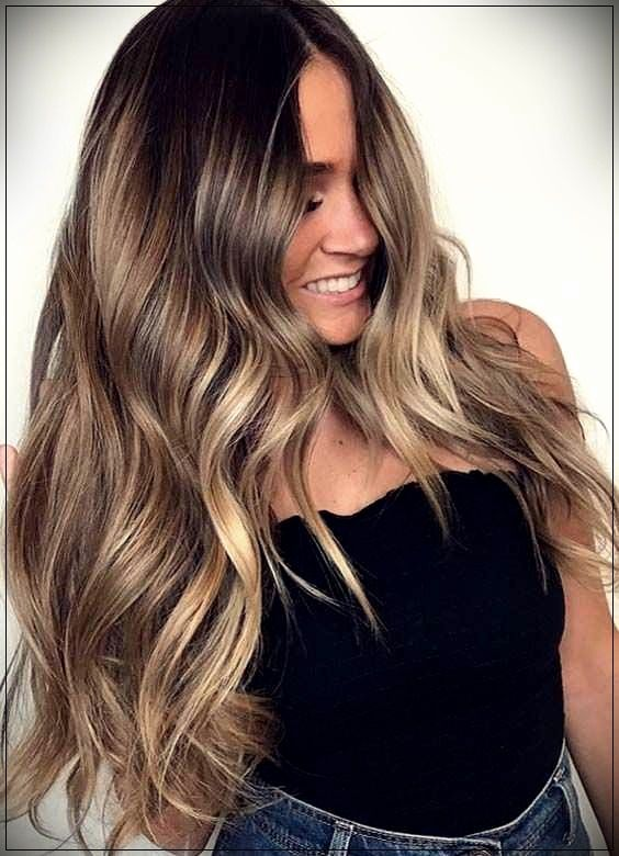 The Most Fashionable Long Hair Coloring Types 2019short And Curly Haircuts Short Hair Balayage Long Hair Styles Long Hair Highlights
