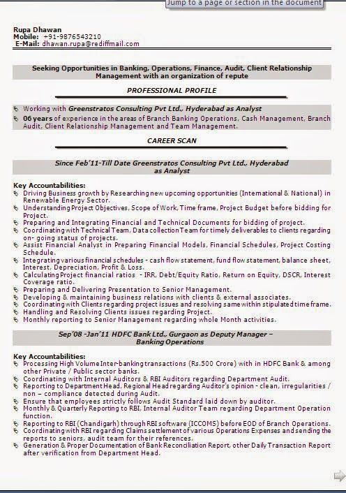 example of functional resume Beautiful Excellent Professional - bank internal auditor sample resume
