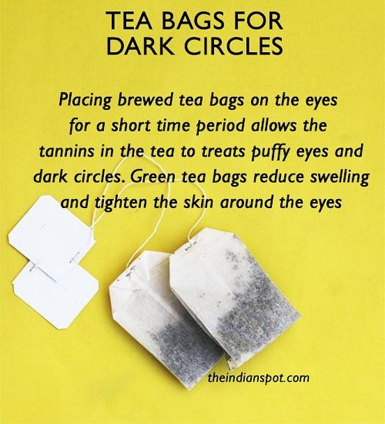 "131 Likes, 2 Comments - LITTLE DIY (@littlediypage) on Instagram: ""Tea for dark circles - Make a cup of green tea by placing organic tea bags in hot water for 2 to 3…"""