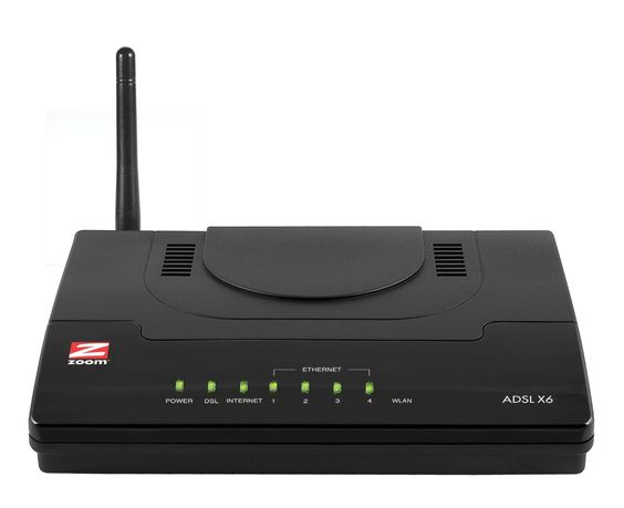 Zoom 5690-72-00AG X6 V2 ADSL 2/2+ Wireless Modem/Router/Access Point - terrific deals on supplier refurbished telecoms equipment - especially for small offices!
