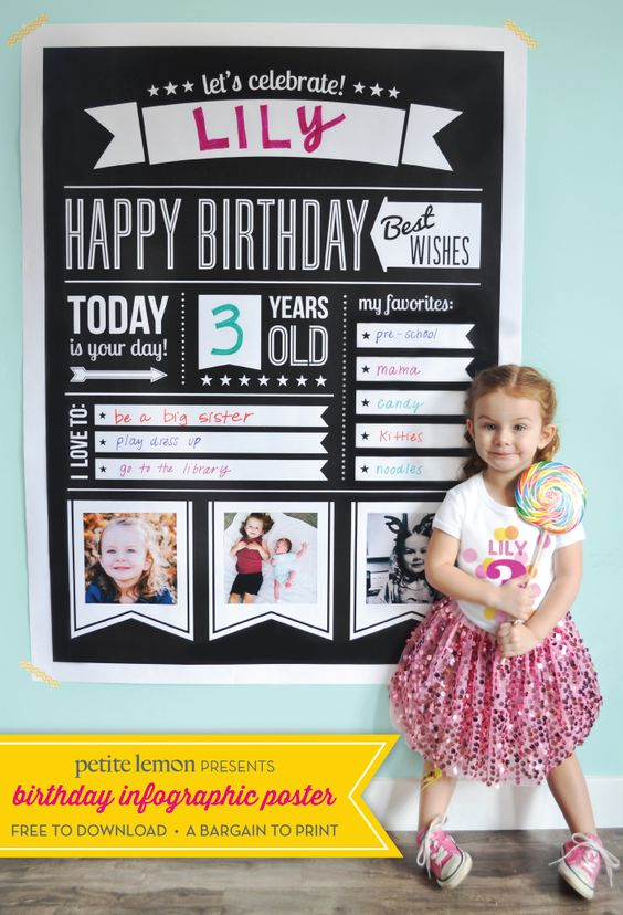 Birthdays graphic posters and poster on pinterest for Birthday posters free download