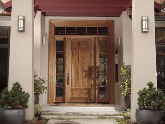 Rogue valley door door 4093 shown in walnut with for Front door johnson valley