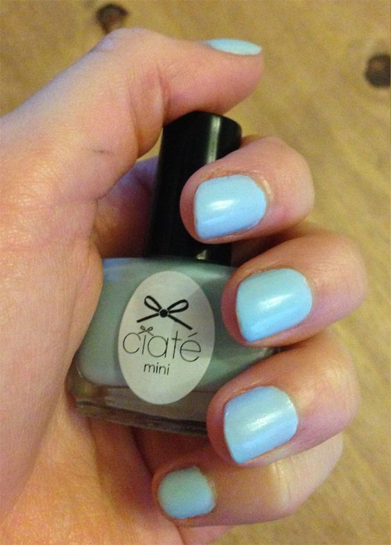 ciate baby blue nails