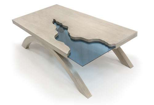 The Grand Canyon Table Breaks the Conventional Mold for Moveables #livingroom #homedecor trendhunter.com